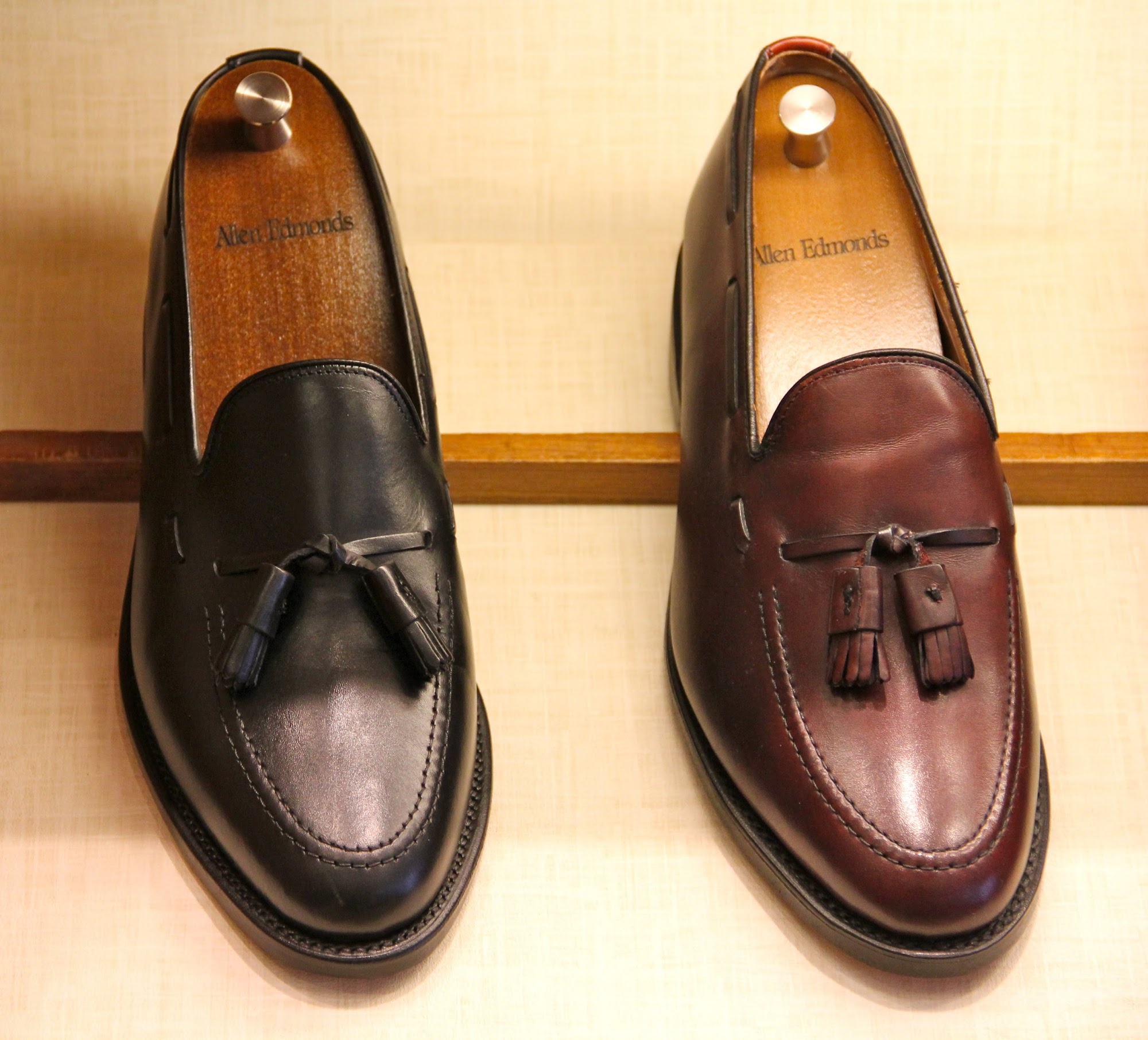 big sale 5d762 63e0c A Visit to the Allen Edmonds Store & My last pick