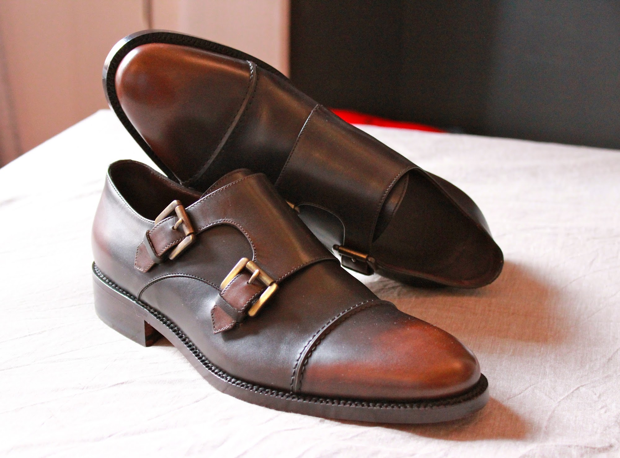 New arrivals: Gordon Bark Double Monks by 59BondSt