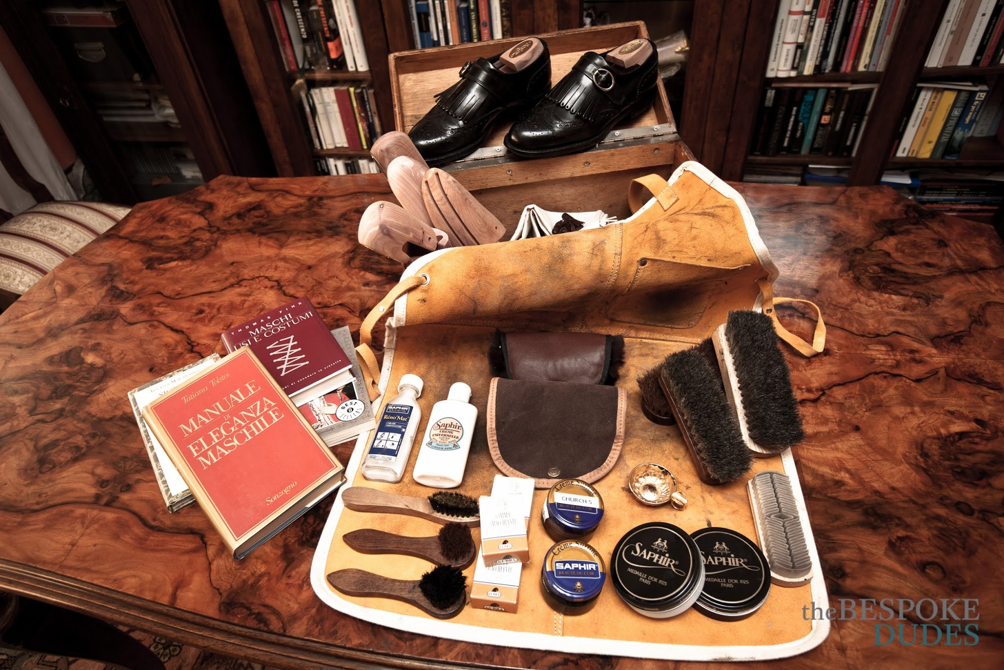 Bespoke Tips: Shoe Shining