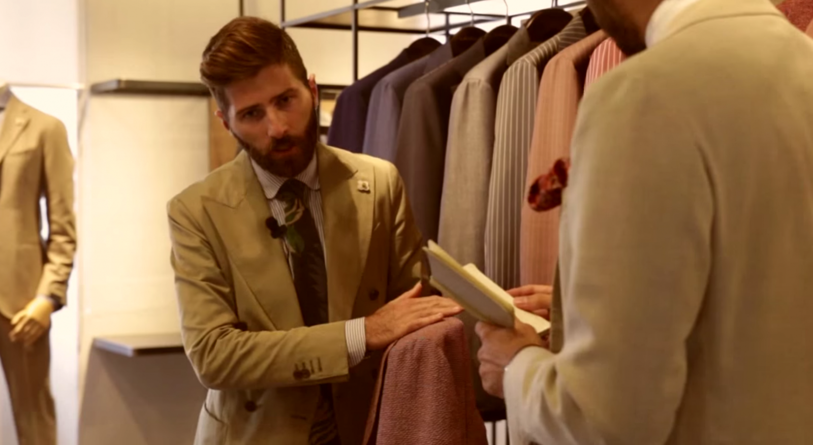 Video Interview to Alessio Lardini World-renowned jackets and more
