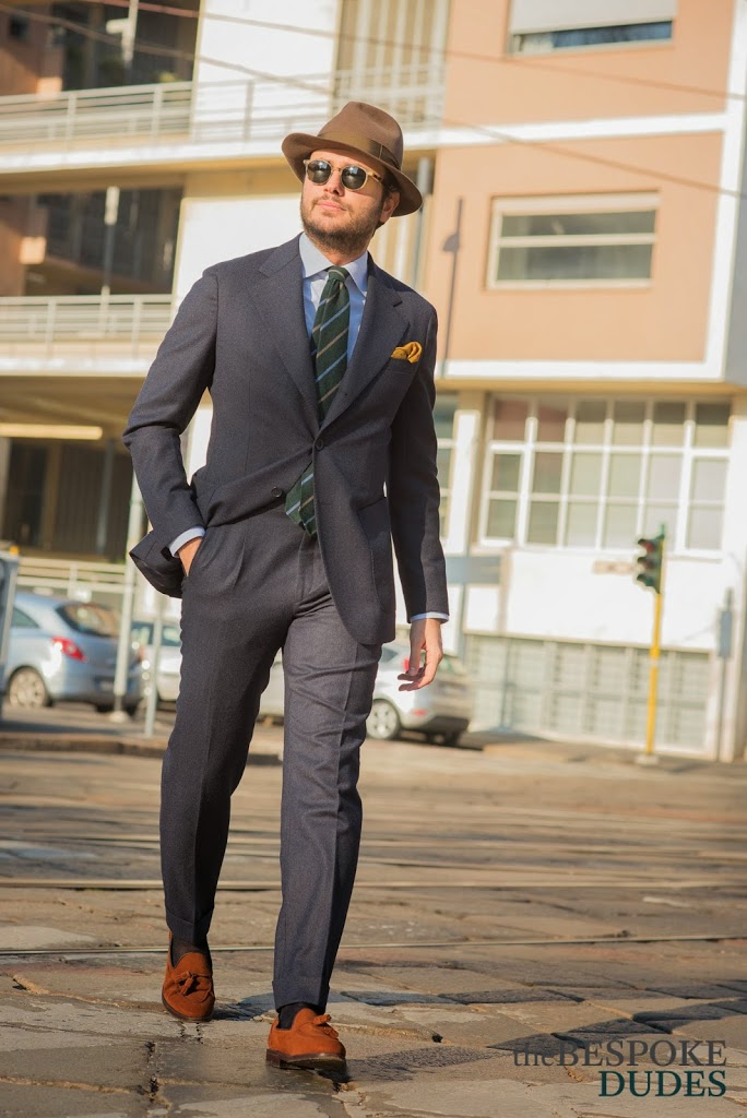 Angelico Flannel Suit