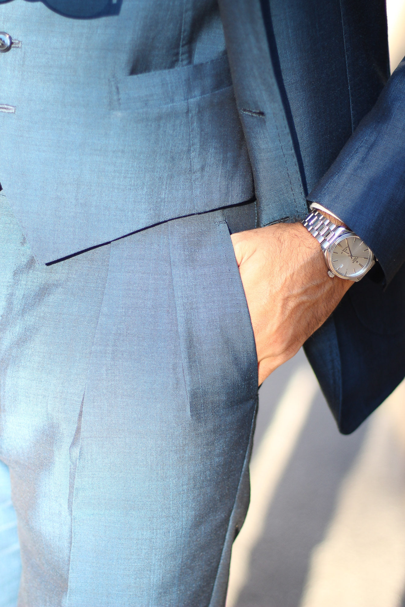 Antica Sartoria Leonardi Review of a suit made from an Ariston mohair fabric