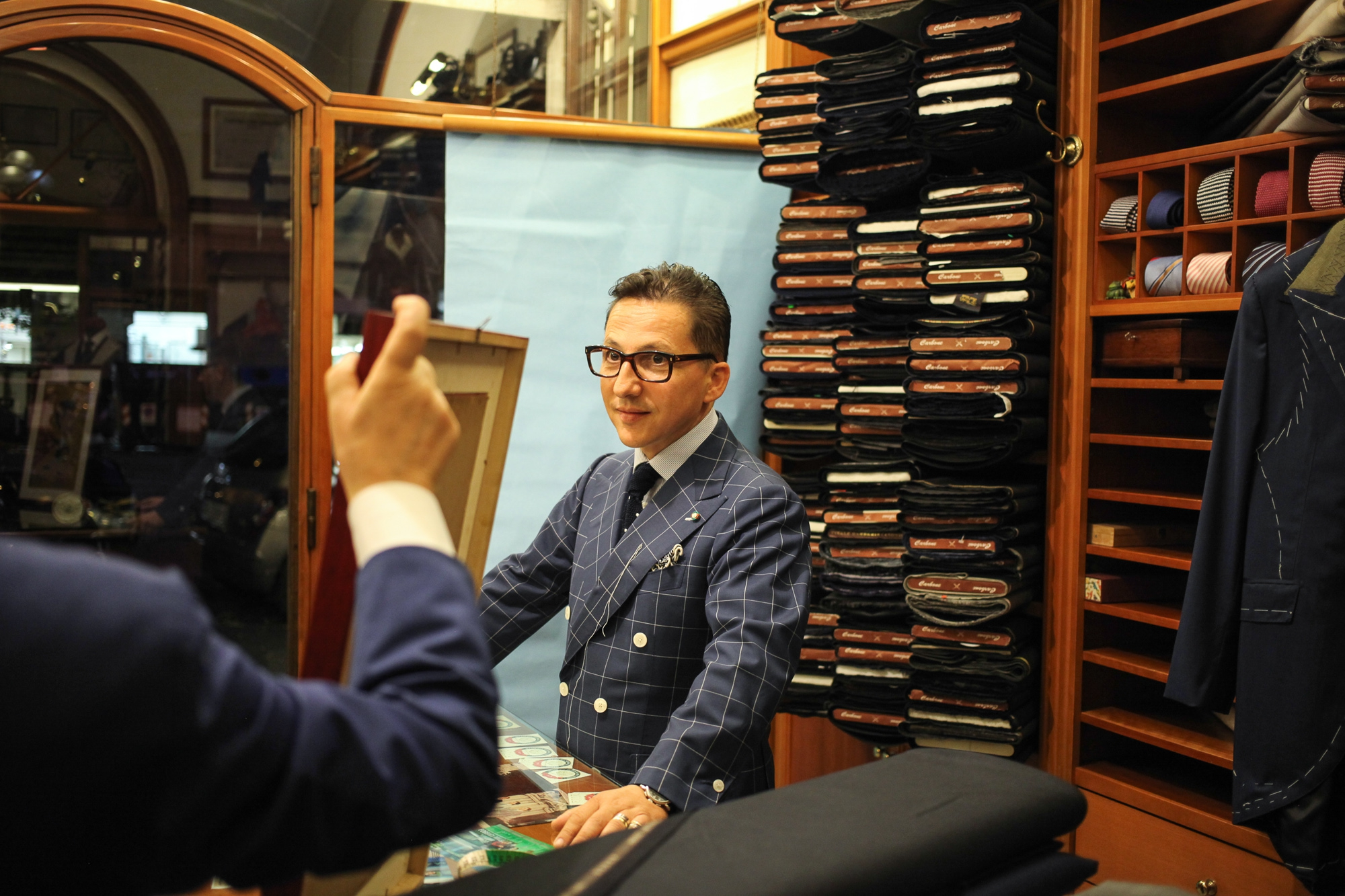 The Roman Chapter  Sartoria Carbone Cuneo is a word from the Roman  tailoring jargon. deaa148c6133
