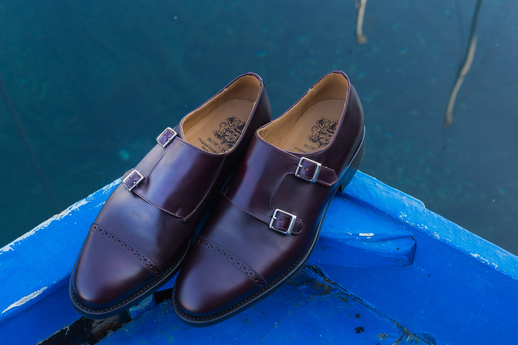 Shoes review: Bow-Tie Double-monks Goodyear welt and Dainite sole