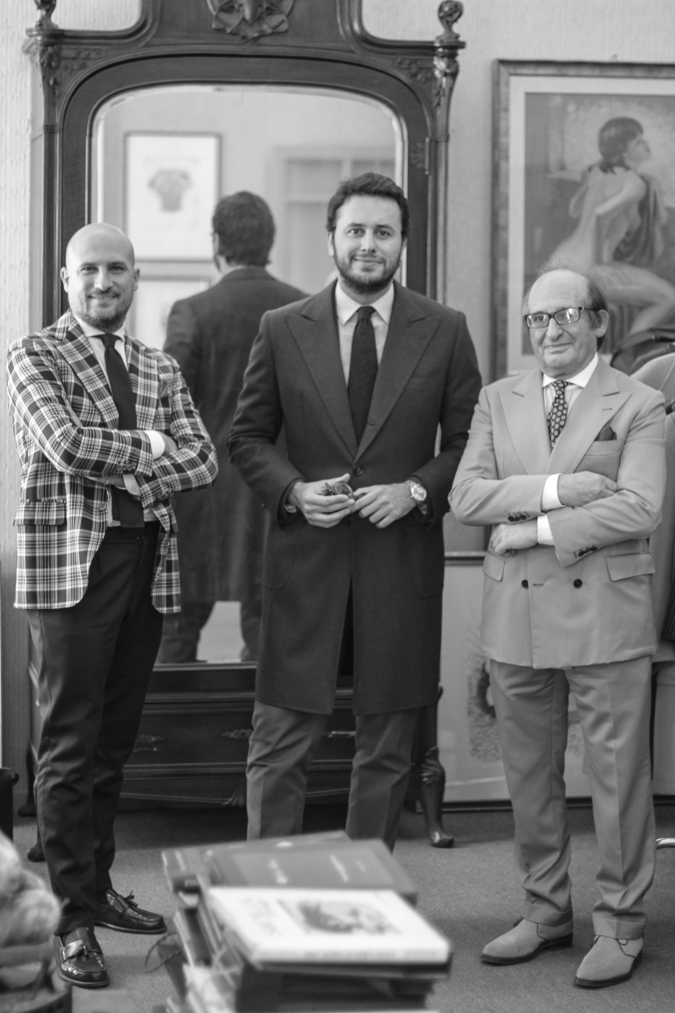 The Sicilian Chapter: Sartoria Crimi Chiave sagomata e particolare lavorazione del sottocollo