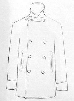The Peacoat History of an iconic garment of men's wardrobe