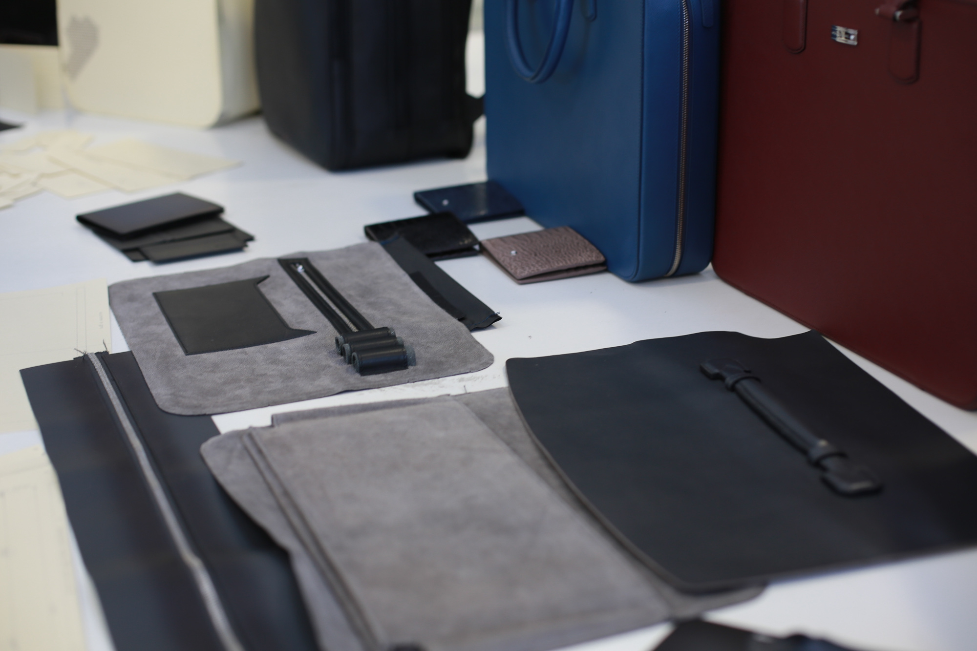 Montblanc: the Pelletteria A visit to the Scandicci leather goods atelier: where tests are at the avant-garde of technology