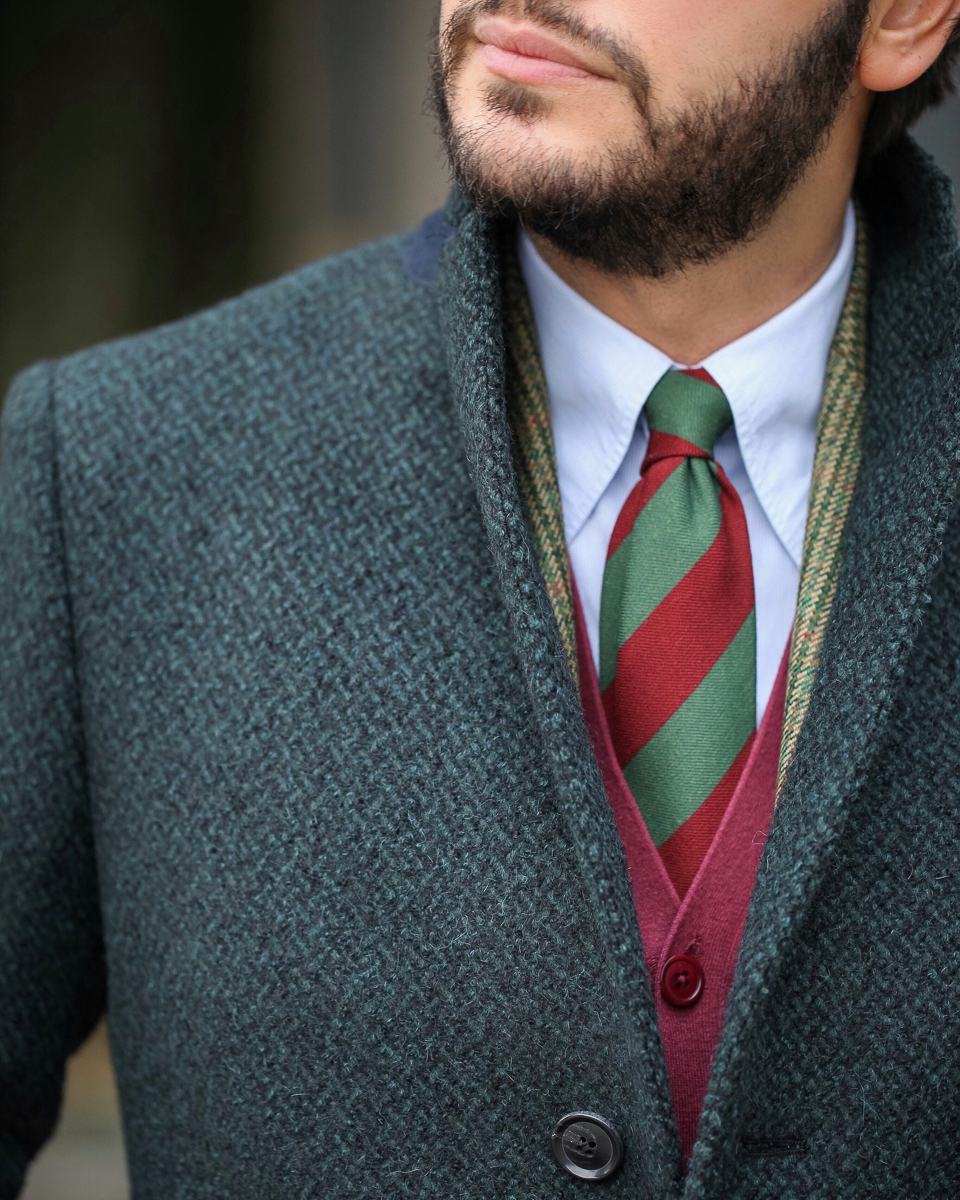 Lanieri: Bouclé Made to Measure Coat When men's cloths borrow ideas from womenswear