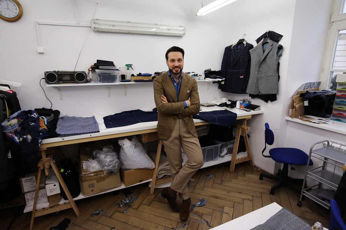 The Polish Chapter: Zaremba bespoke  An international flair, auteur blood flowing through his veins and a praiseworthy attention to proportions