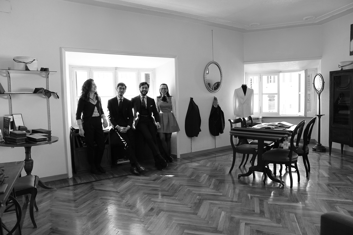 The Roman Chapter: Sartoria Habitus The Young Romantics of the bespoke tailoring scene in Rome