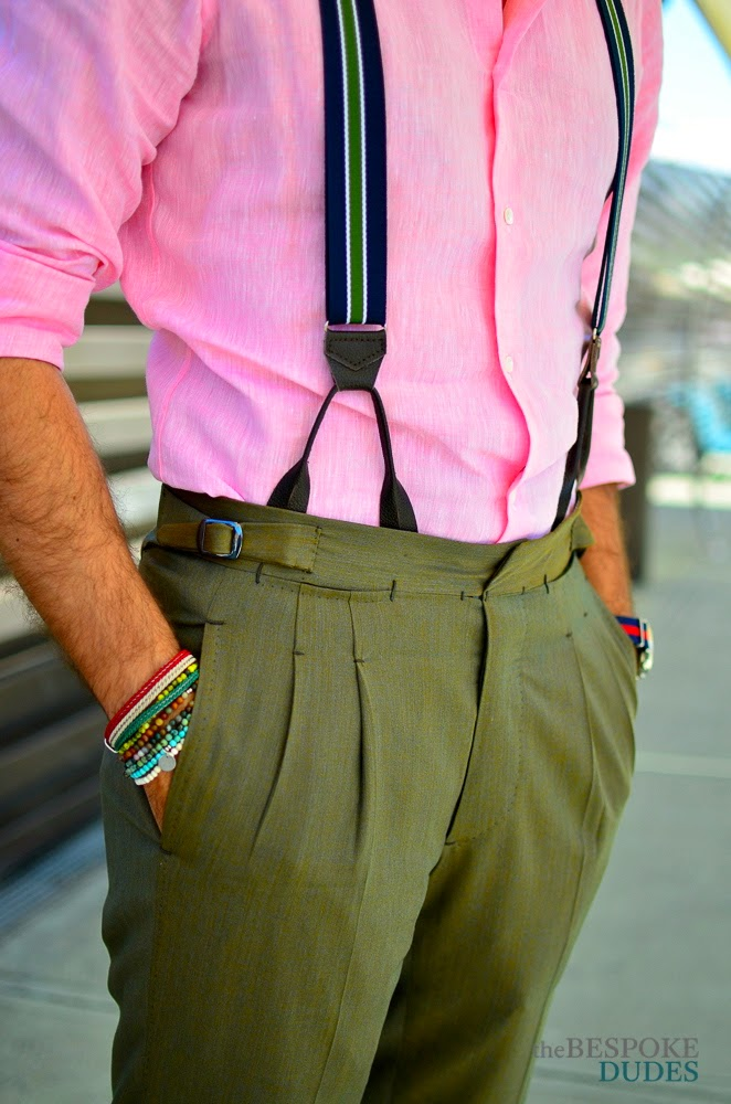 About the suspenders