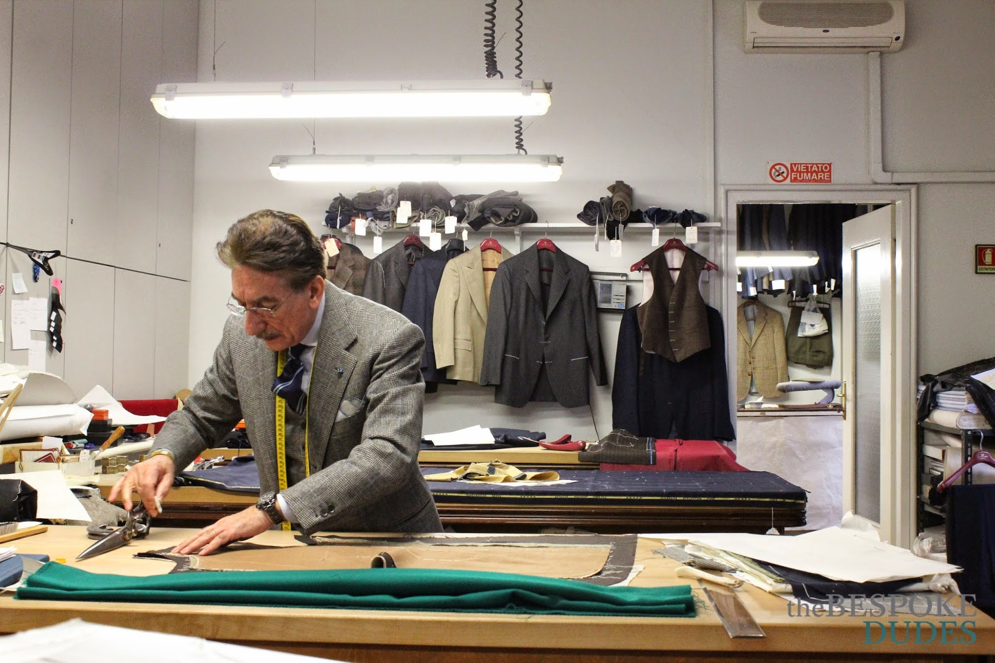 A. Caraceni - The cradle of Milanese tailoring