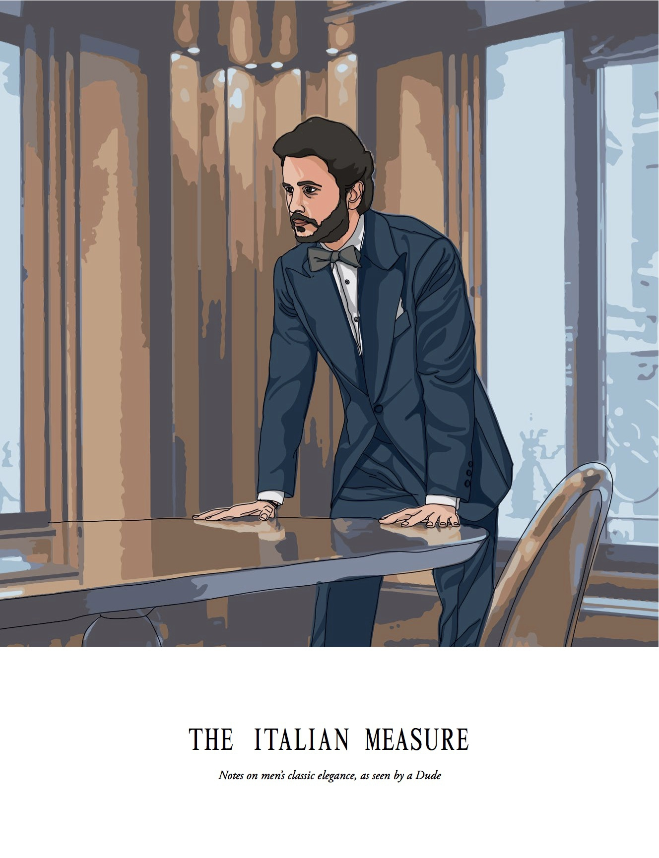 The Italian Measure Notes on men's classic elegance, as seen by a Dude