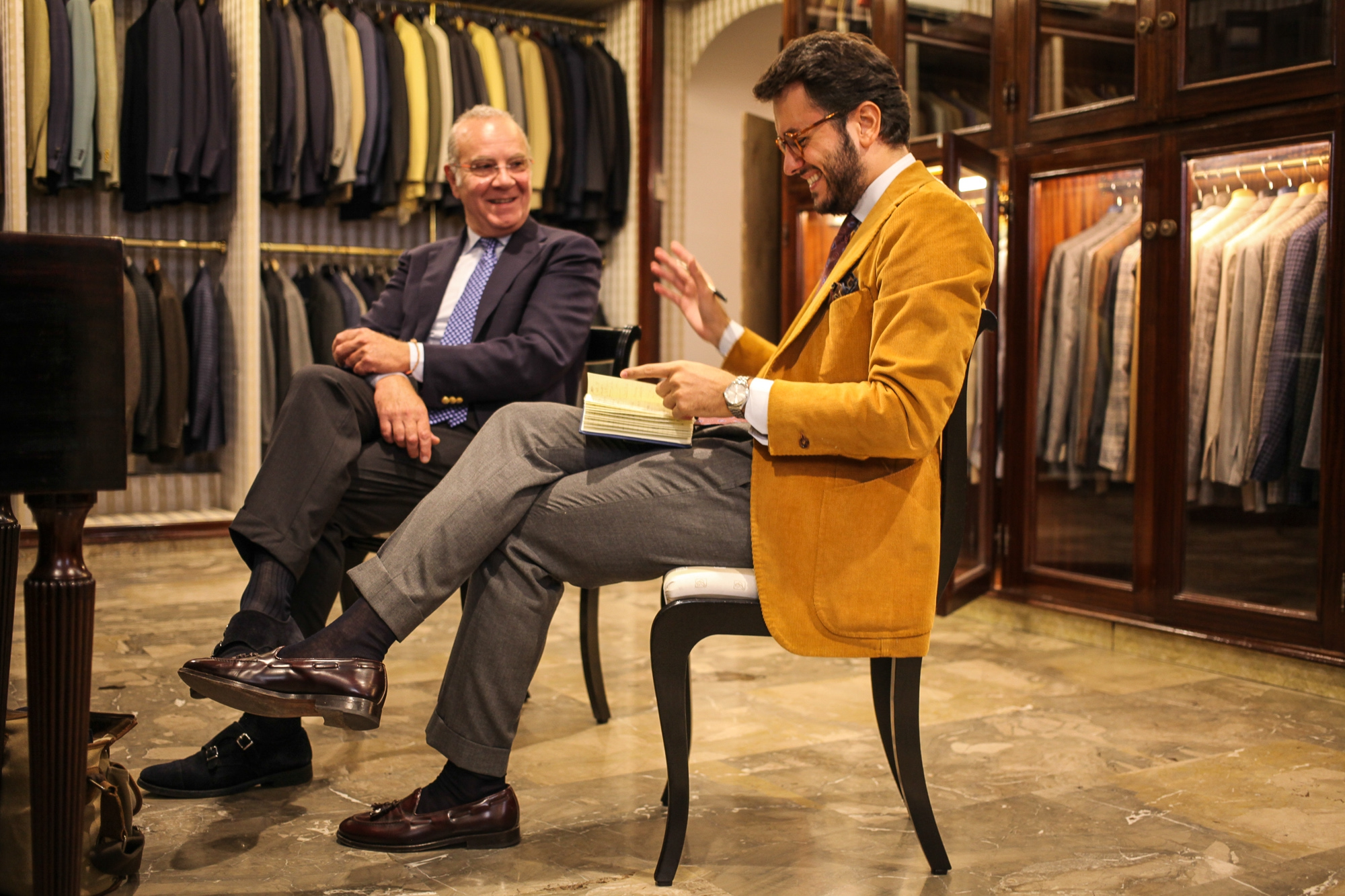 The Roman Chapter - Caleffi Interview with shirtmaker Rodolfo Caleffi in Rome