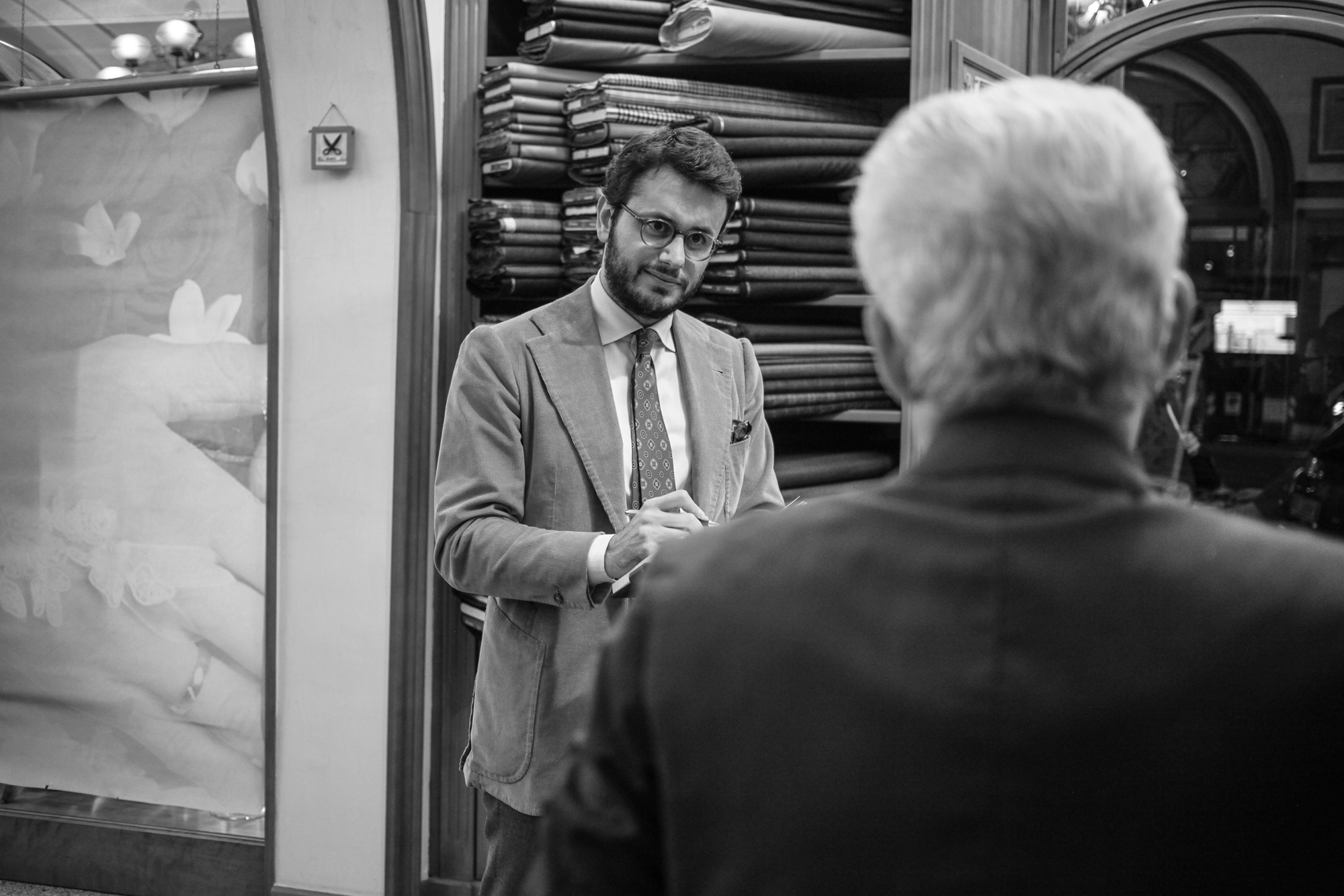 The Roman Chapter: Sartoria Carbone Cuneo is a word from the Roman tailoring jargon. Here is what is means