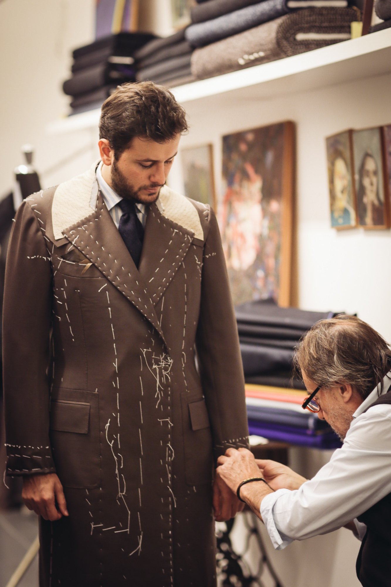 Dalcuore Ulster Coat - Part II First and Second Fitting