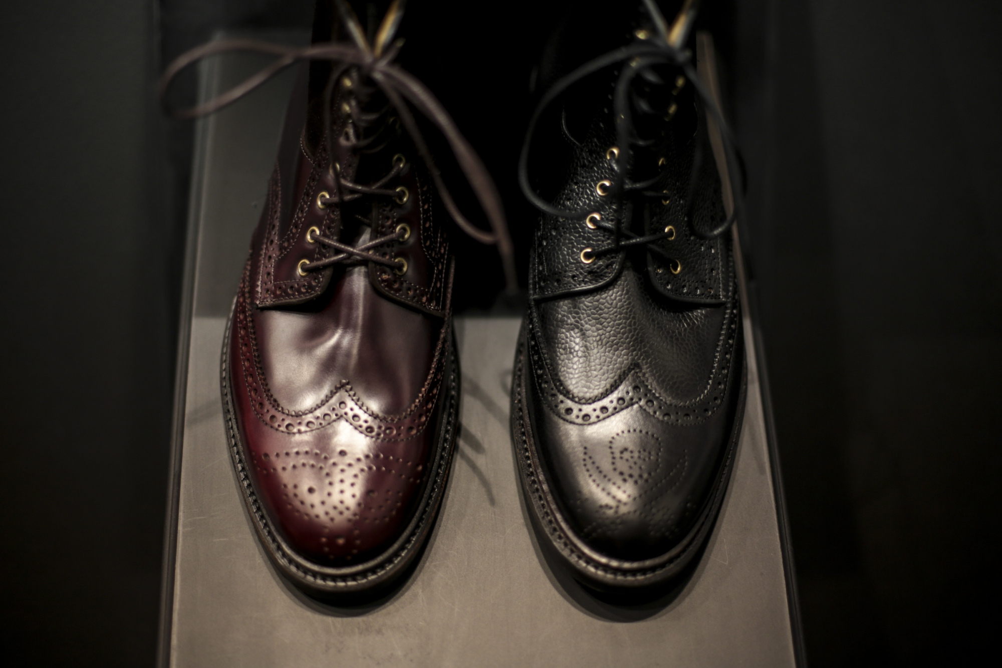 Bow-Tie at Pitti 89 Goodyear construction and luxurious details