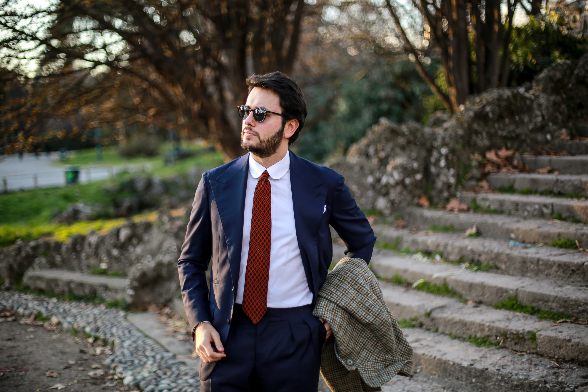 Edesim concave lapel line - Part II The photos of the final result