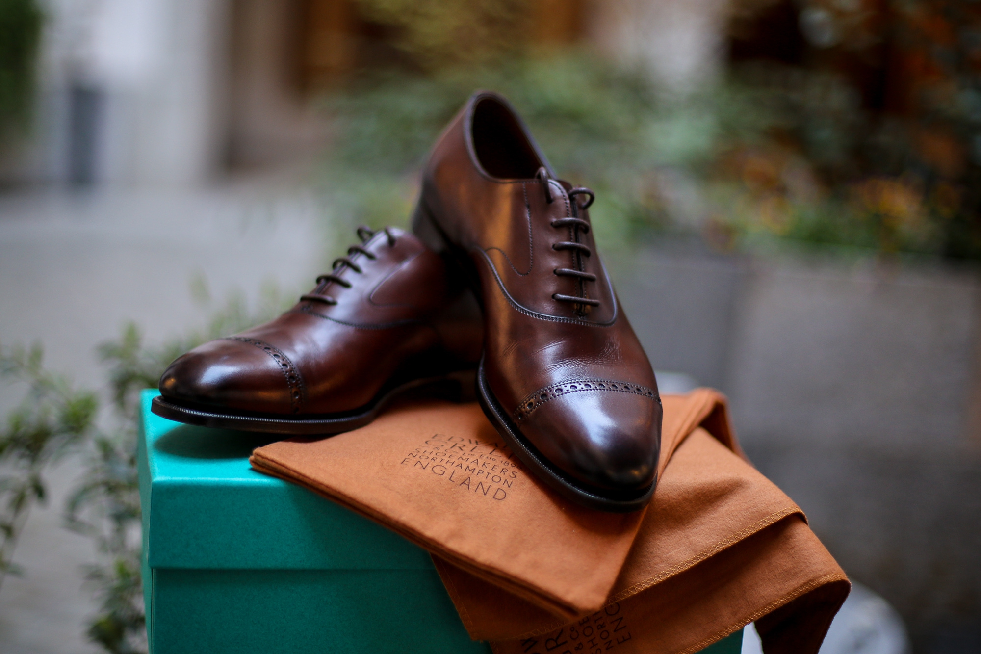 Review: Edward Green Berkeley Oxfords The quintessence of English style in footwear