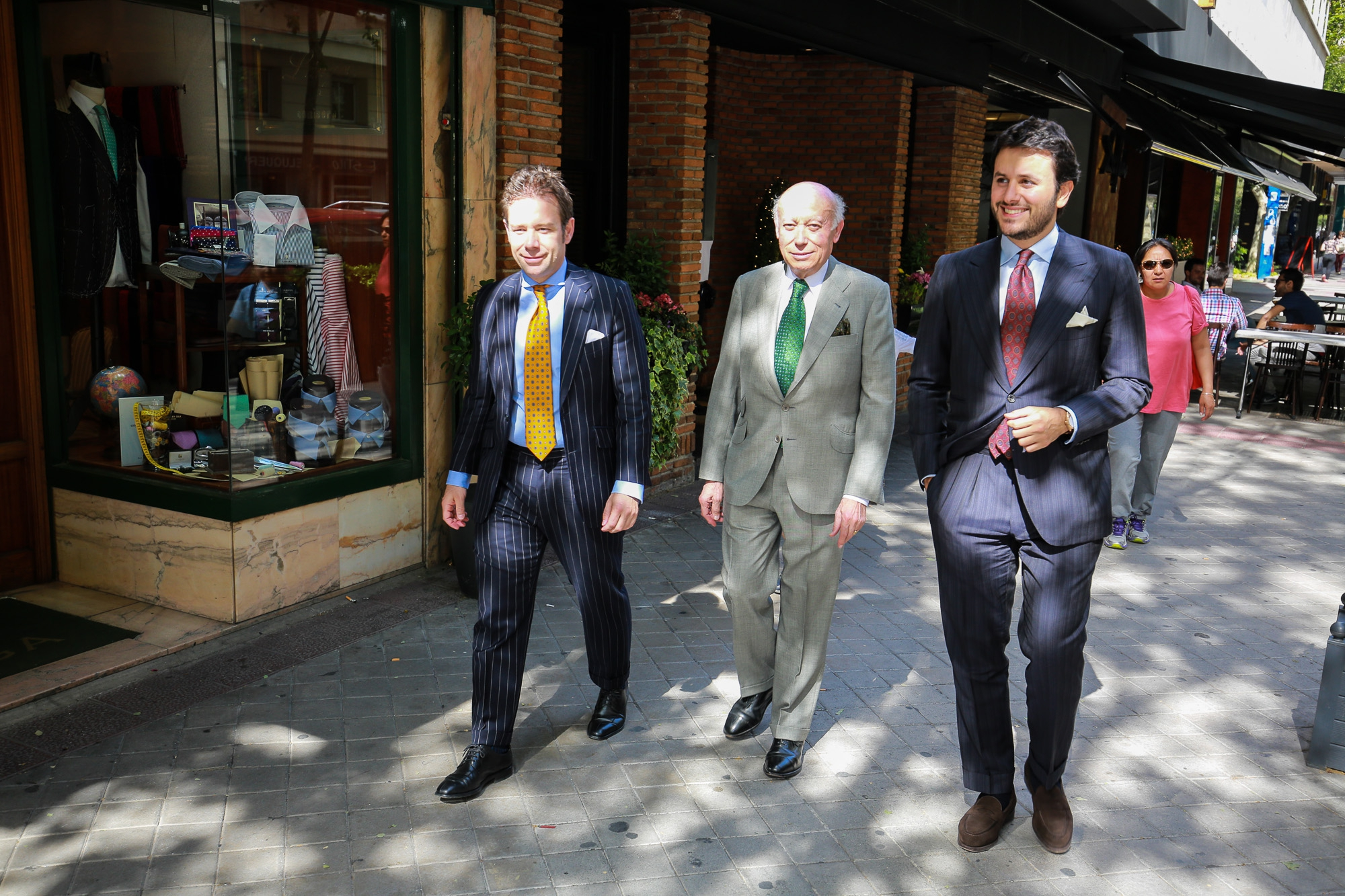 The Spanish Chapter: Sastreria Langa Second fitting of a mohair suit by Joaquín Fernandez Prats