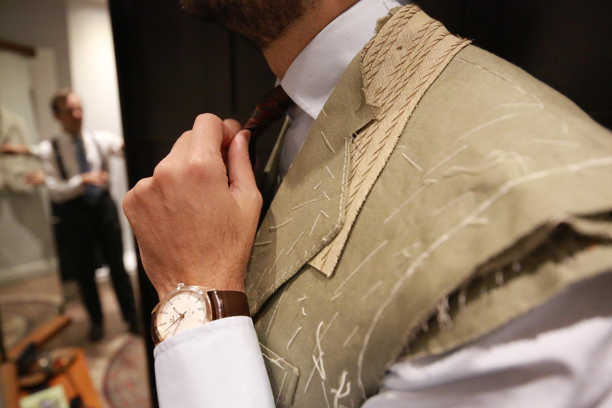 Sastrería Serna - Irish Linen Suit  The fittings & the final result