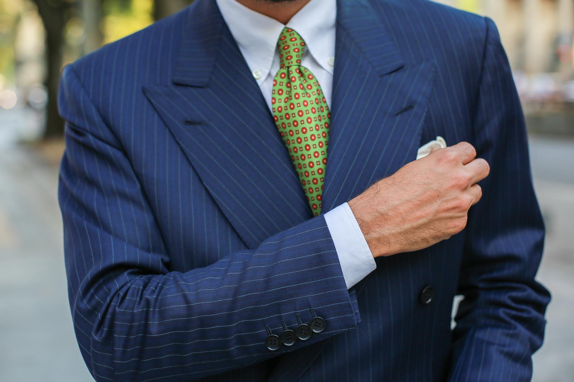 A. Caraceni: the final product Suit or pajama?