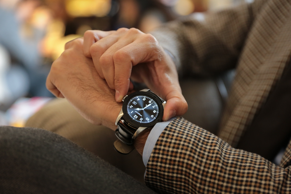 Montblanc Summit Smartwatch Combining watchmaking contours with a wearable-technology-based heart