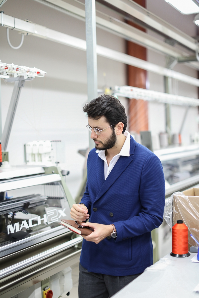 Falconeri: Company visit at the Avio-based production facility Himalayan goat, two-ply cashmere and a comparison with the textile industry