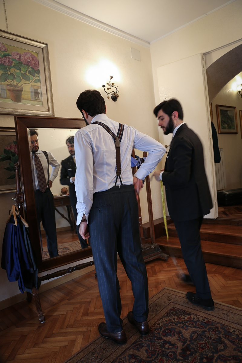 The Roman Chapter: Sartoria Habitus The Young Romantics of the bespoke tailoring scene in Rome