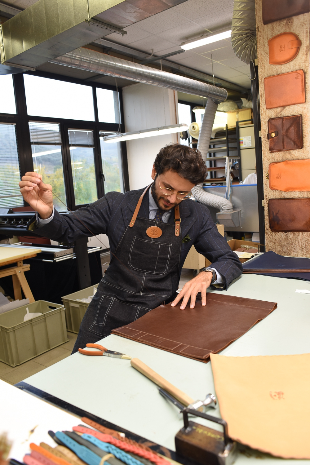 Company Visit: Il Bisonte Vegetable tanned cowhide and Tuscan craftsmanship
