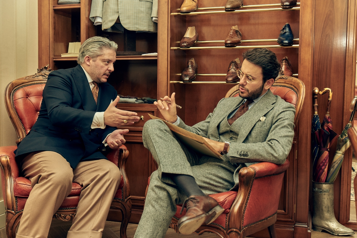 Antonio Pio Mele The bespoke shoemaker of the Kings tells his story